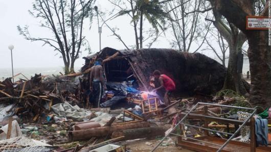 Vanuatu po przejściu cyklonu