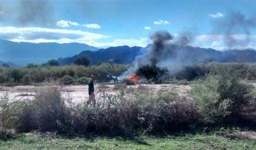 Villa Castelli, Argentyna - Dwa śmigłowce zderzyły się podczas lotu, zginęło 10 osób
