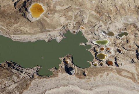 Zapada się wybrzeże Morza Martwego 1