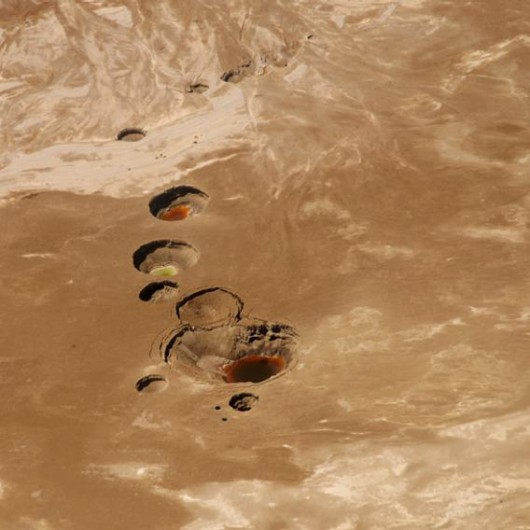 Zapada się wybrzeże Morza Martwego 7