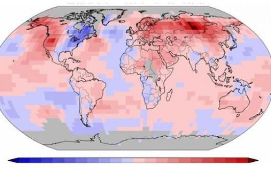 Zima 2014-2015 była najcieplejszą w historii pomiarów meteorologicznych na całym świecie