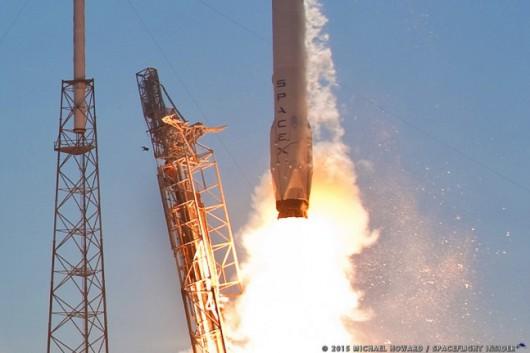 Atlantyk - Falcon 9 znów eksplodował przy lądowaniu