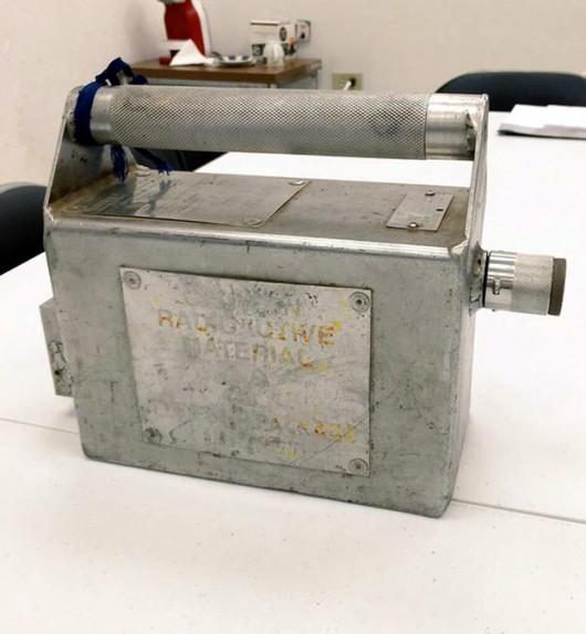 Cardenas, Meksyk - Znaleziono skradziony radioaktywny iryd-192