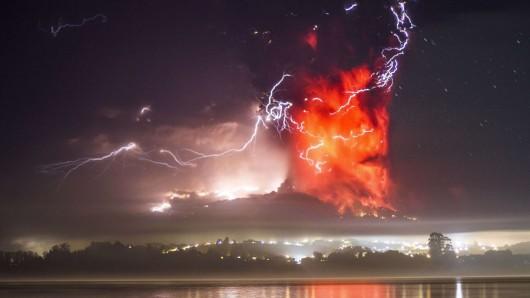 Chile - Kolejna potężna erupcja wulkanu Calbuco 3
