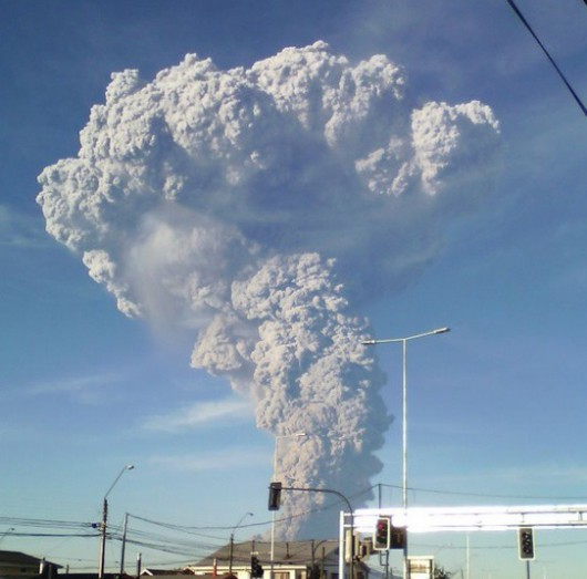 Chile - Kolejna potężna erupcja wulkanu Calbuco 4