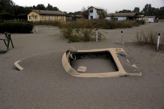 Chile - Po erupcji wulkanu Calbuco powstały spływy błotne i lahary 10