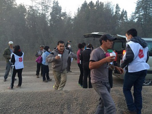 Chile - Po erupcji wulkanu Calbuco powstały spływy błotne i lahary 13