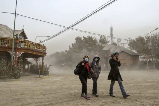 Chile - Po erupcji wulkanu Calbuco powstały spływy błotne i lahary 14