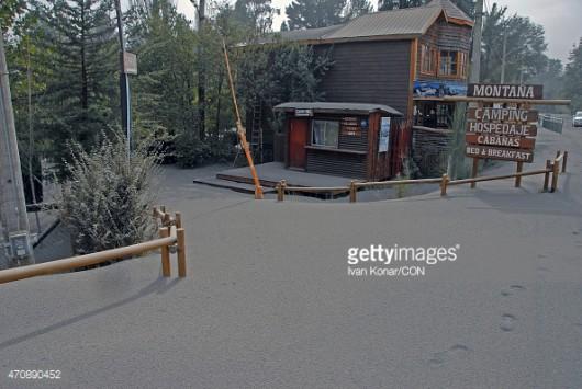 Chile - Wulkan Calbuco zasypuje popiołem okoliczne miasta 4