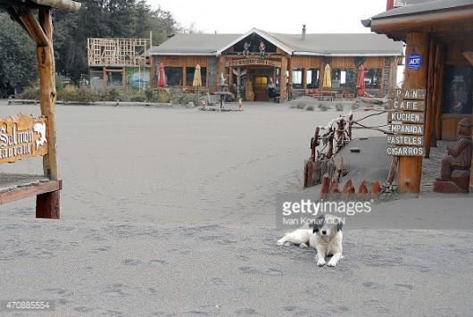 Chile - Wulkan Calbuco zasypuje popiołem okoliczne miasta 7