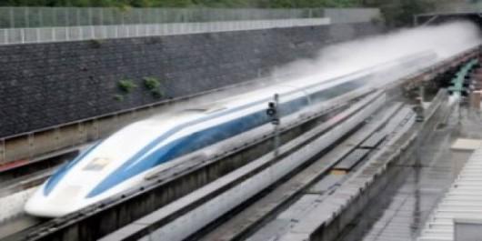 Japonia - Pociąg Maglev pobił światowy rekord prędkości 2