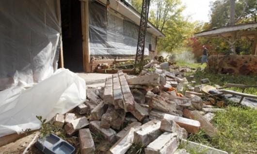 Katmandu, Nepal - Bardzo silne trzęsienie ziemi, magnituda 7.9 w skali Richtera 1
