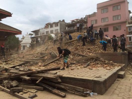 Katmandu, Nepal - Bardzo silne trzęsienie ziemi, magnituda 7.9 w skali Richtera 18