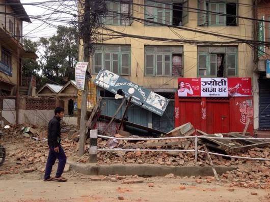 Katmandu, Nepal - Bardzo silne trzęsienie ziemi, magnituda 7.9 w skali Richtera 22