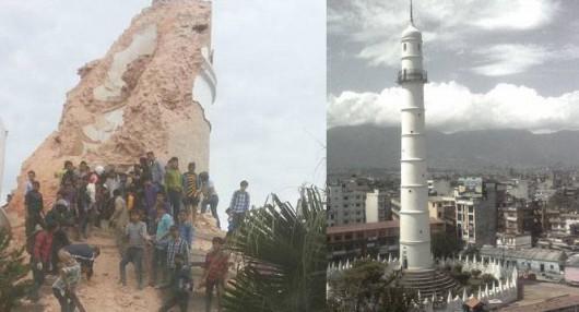 Katmandu, Nepal - Bardzo silne trzęsienie ziemi, magnituda 7.9 w skali Richtera 27