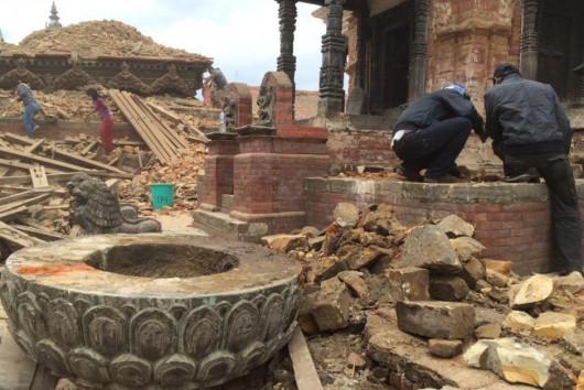 Katmandu, Nepal - Bardzo silne trzęsienie ziemi, magnituda 7.9 w skali Richtera 34