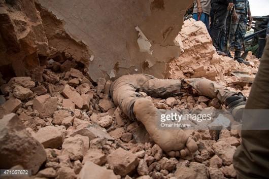 Katmandu, Nepal - Bardzo silne trzęsienie ziemi, magnituda 7.9 w skali Richtera 36