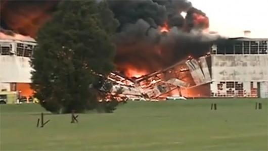 Louisville, USA - Ogromny pożar w fabryce General Electric 5