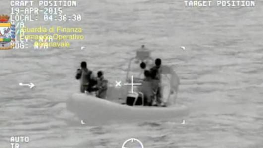 Morze Śródziemne - Katastrofa kutra z imigrantami