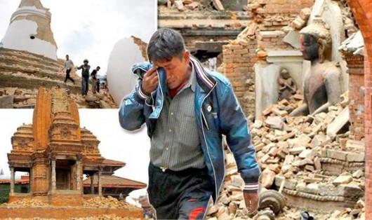 Nepal - 340 tysięcy osób porzuciło spustoszone trzęsieniem ziemi miasto i Kotlinę Katmandu