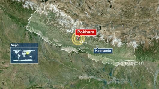 Nepal - Trzęsienie ziemi
