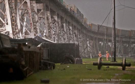 Nowy Orlean, USA - Potężna burza pozbawiła prądu ponad 200 tysięcy gospodarstw domowych 1