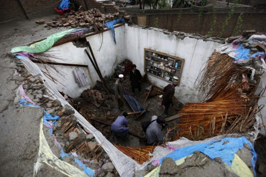 Devastating storm kills 44 in Peshawar
