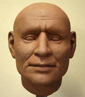 Polska - Na podstawie czaszki zrekonstruowano rysy twarzy wojownika z epoki brązu 3
