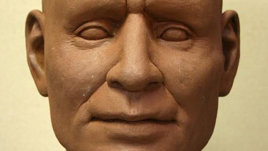 Polska - Na podstawie czaszki zrekonstruowano rysy twarzy wojownika z epoki brązu 4