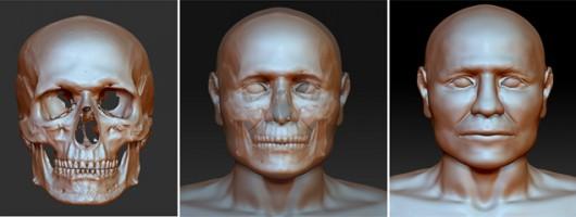 Polska - Na podstawie czaszki zrekonstruowano rysy twarzy wojownika z epoki brązu