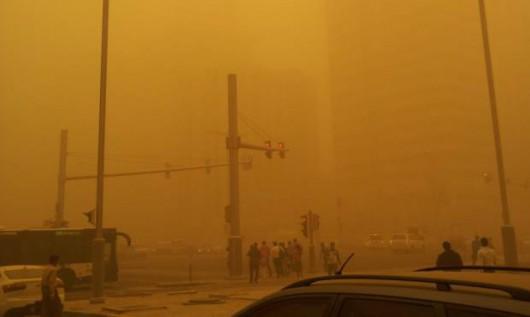 Potężna burza piaskowa na Półwyspie Arabskim 7