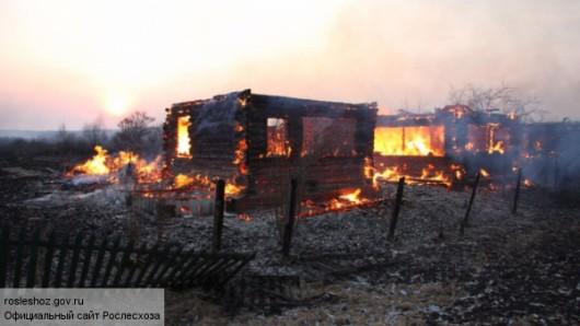 Rosja - Ogromne pożary na Syberii, w 38 miejscowościach spłonęło ponad 1200 domów 6