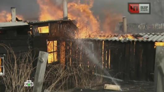 Rosja - Ogromne pożary na Syberii, w 38 miejscowościach spłonęło ponad 1200 domów 7