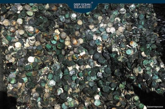 Skarb znaleziony na dnie Atlantyku /Deep Ocean Search /