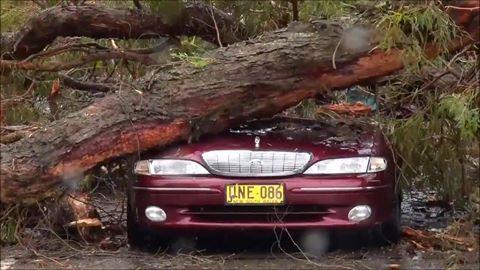 Sydney, Australia - Ogromna burza pozbawiła prądu 200 tysięcy osób 13