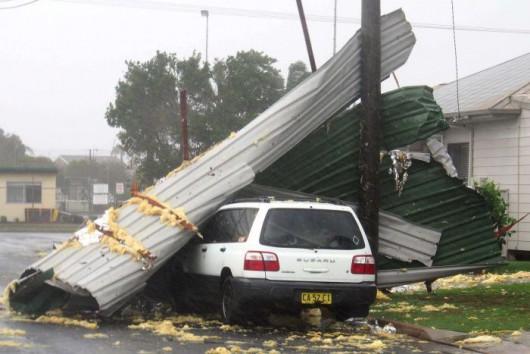 Sydney, Australia - Ogromna burza pozbawiła prądu 200 tysięcy osób 8