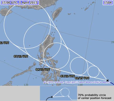 Tajfun Maysak 2