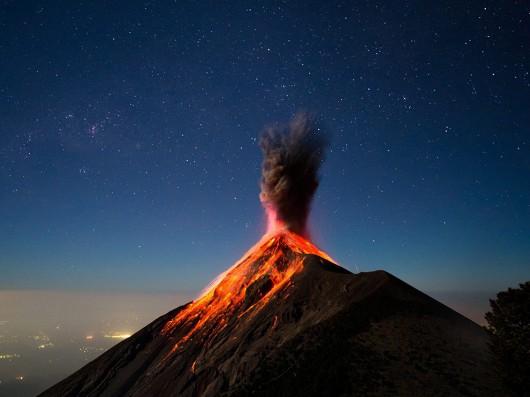 Wulkan Sinabung, Indonezja 2