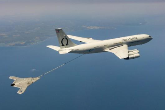 X-47B uzupełnił paliwo w powietrzu 2