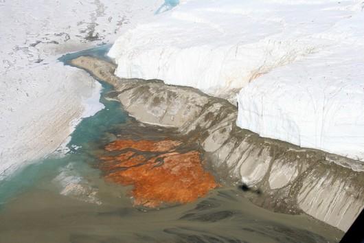 Antarktyda - Rozwiązano zagadkę krwawych wodospadów na Lodowcu Taylor 4