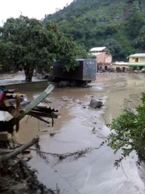 Antioquia, Kolumbia - Co najmniej 40 osób zabiła rzeka błota 2