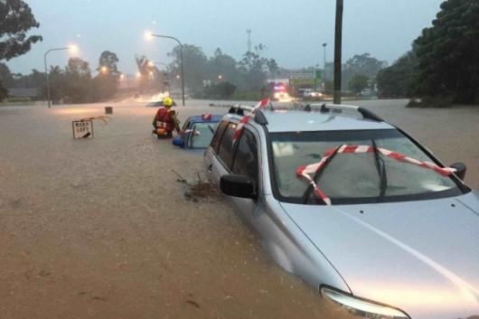 Australia - Pięcioletni chłopiec zginął w powodzi w Brisbane 1