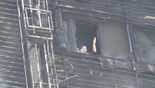 Azerbejdżan, Baku - Potężny pożar wieżowca, 16 osób zginęło 1
