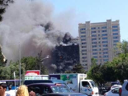 Azerbejdżan, Baku - Potężny pożar wieżowca, 16 osób zginęło 2