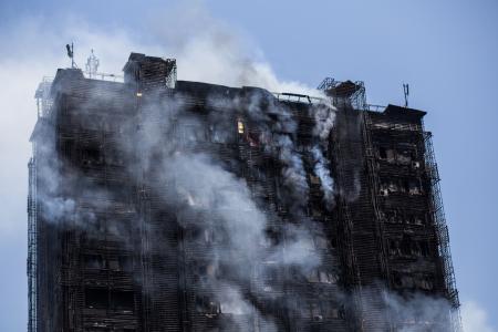 Azerbejdżan, Baku - Potężny pożar wieżowca, 16 osób zginęło 3