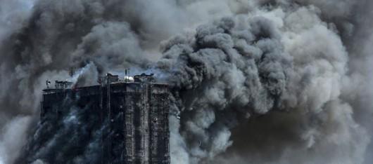 Azerbejdżan, Baku - Potężny pożar wieżowca, 16 osób zginęło 4