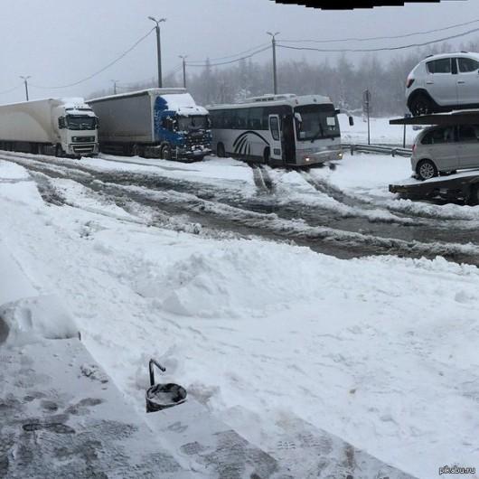 Do Rosji wróciła zima, mrozy i śnieżyce 2