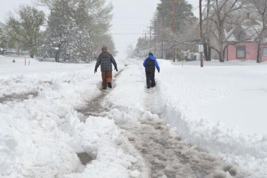 Do Rosji wróciła zima, mrozy i śnieżyce 7