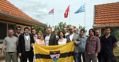 Europa - Przy granicy serbsko-chorwackiej nieoficjalnie na niczyjej ziemi powstało mikro państwo Liberland 3