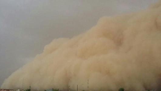 Fallujah, Irak - Potężna burza piaskowa 2